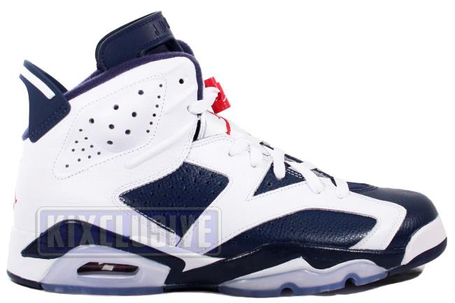 Air Jordan 6 Retro 2012 Olympic