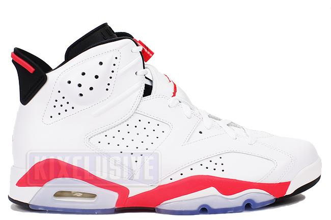 Air Jordan 6 Retro 2014 White / Infrared