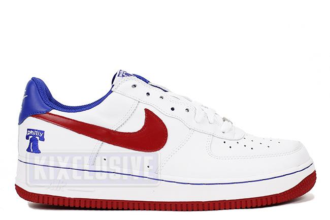 Air Force 1 Philly White / Red / Royal
