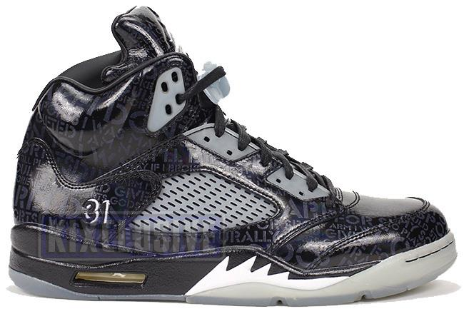 Air Jordan 5 Retro Doernbecher Black / White