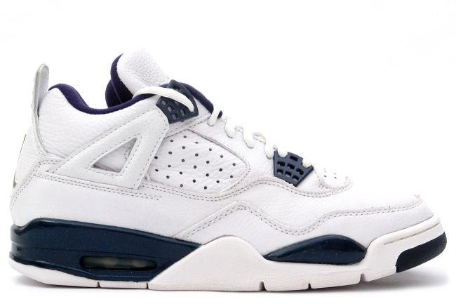 Air Jordan 4 Retro 1999 White / Midnight Navy