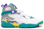 Air Jordan 8 Retro White / Aqua