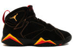 Air Jordan 7 Retro Black / Citrus