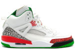 Air Jordan Spiz'ike White / Red / Green