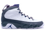 Air Jordan 9 Retro + White / French Blue / Flint Grey