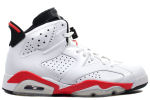 Air Jordan 6 Retro 2010 White / Infrared