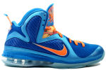 Nike Lebron 9 'China' Neptune Blue / Orange
