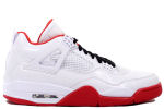Air Jordan 4 History Of Flight White / Red