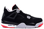Air Jordan 4 Retro 2012 Black / Red