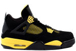 Air Jordan 4 Retro 2012 Thunder Black / Yellow