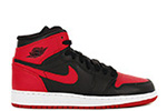 Air Jordan 1 Retro High OG BG Bred 2013