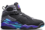 Air Jordan 8 Retro 2015 Black / Aqua
