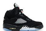 Air Jordan 5 Retro OG BG Black / Metallic (Nike Air)
