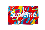 Supreme Abstract Beach Towel Red