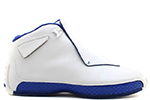 Air Jordan 18 OG White Royal Blue
