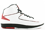 Air Jordan 2 Retro Chicago 2004 White Black Red