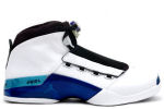 Air Jordan 17 White / College Blue / Black