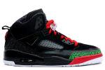 Air Jordan Spiz'ike Black / Red / Green