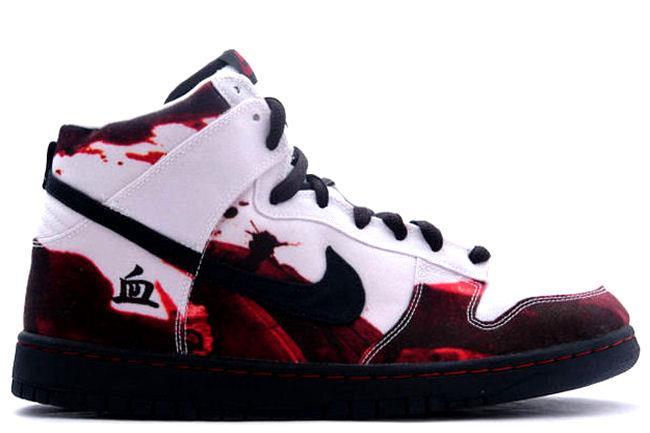 Nike Dunk Haute Globules Rouges Et Blancs MWw0QSKQmR