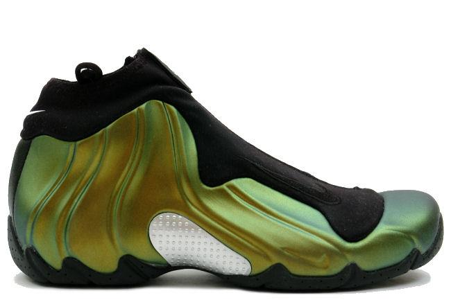 f03e27be5054 Kixclusive - Nike Air Flightposite Black   Metallic Gold