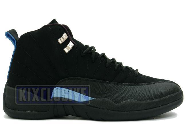 Air Jordan 12 Retro 2003 Black / University Blue