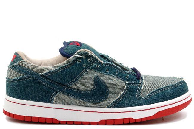 Nike SB Dunk Low \u0026#39;Denim\u0026#39