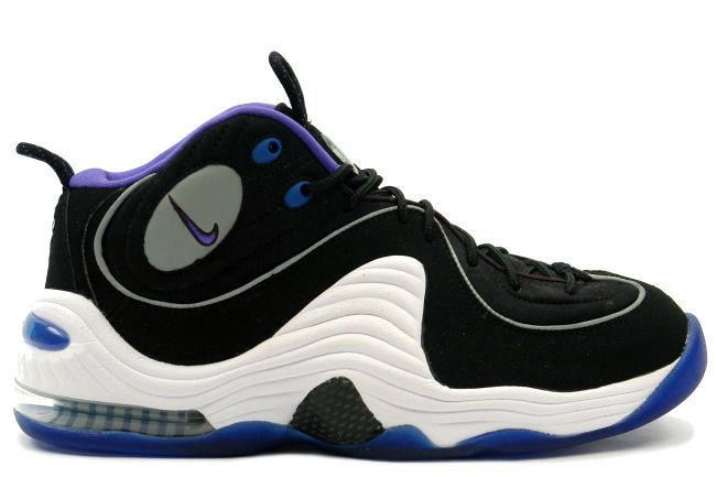 Black White Penny Hardaway Shoes