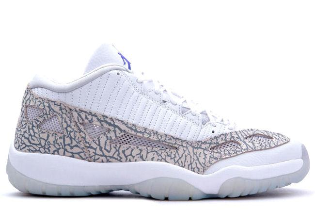 8d813d259d08 Kixclusive - Air Jordan 11 Retro Low 2003 IE White   Cobalt