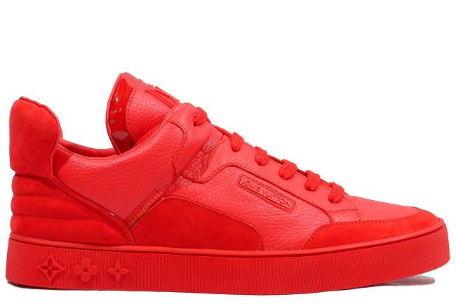 kixclusive louis vuitton x kanye west don red