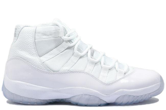 sale retailer bd125 959d1 Air Jordan 11 Retro 25th Anniversary White   Silver