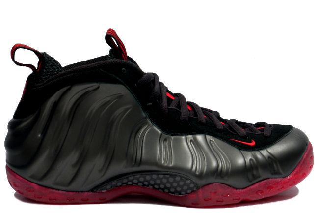 half off 9750d 6f13c Nike Air Foamposite One Coughdrop Black / Red