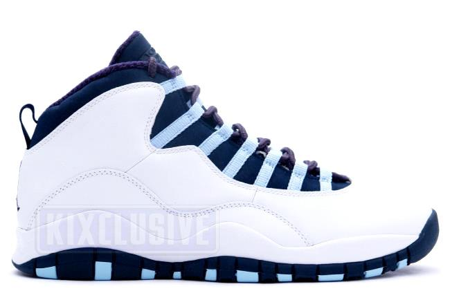 pretty nice 7e5ac 2c93b Air Jordan 10 Retro White / Ice Blue