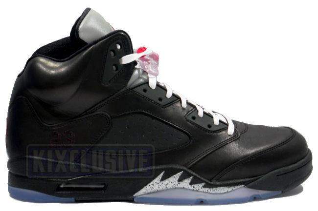 the latest e169e 18389 Kixclusive - Air Jordan 5 Retro Premio Bin23 Black   Silver