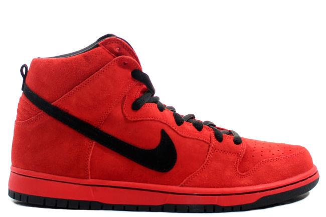 Nike SB Dunk High 'Red Devil'