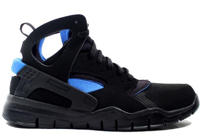 Kixclusive - Nike Air Huarache Bball 2012 Black   Italy Blue ecee0a59e