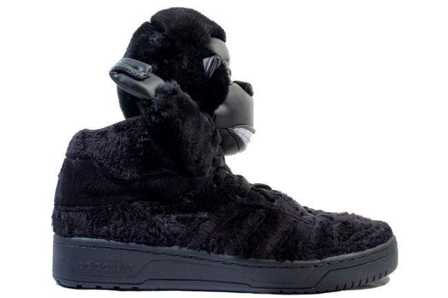best sneakers ec602 76b16 Adidas JS Gorilla Black   Black