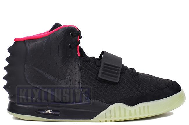 Kixclusive - Nike Air Yeezy 2 NRG Black   Solar Red f7d398716