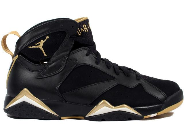 classic fit dc3cf b3609 Kixclusive - Air Jordan 7 Golden Moment Black   Gold