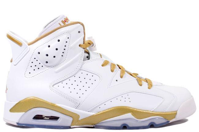 bd88d4215f3 ... Air Jordan 6 Golden Moment White Gold ...