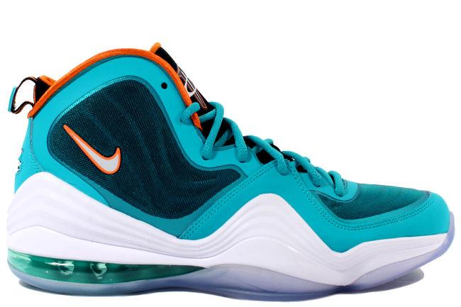 size 40 1cb27 22607 Nike Air Penny 5 Miami Dolphins