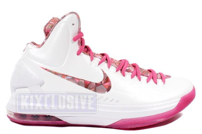 5b5c1df03e46 Kixclusive - Nike KD 5 Premium Aunt Pearl