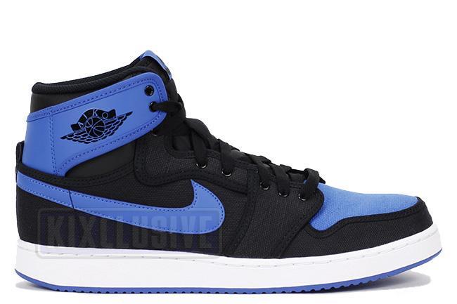 classic 27d4a fe6fc Air Jordan 1 Retro KO High OG Black  Blue