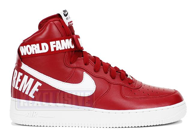 Air Force 1 High Supreme SP Red