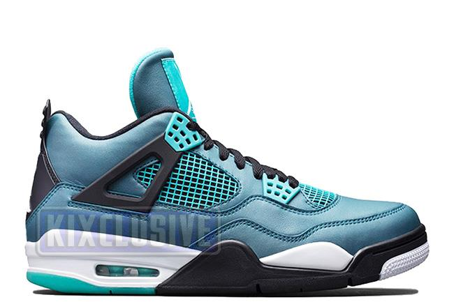 Kixclusive - Air Jordan 4 Retro 30th BG Teal dfead4fd2
