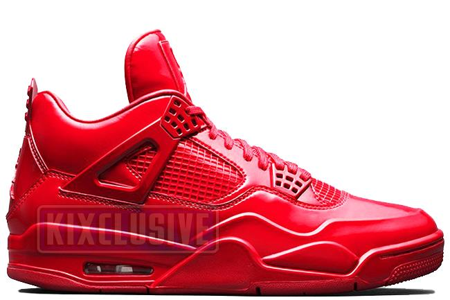 the latest 37c9d 332d4 Air Jordan 4 11Lab4 University Red