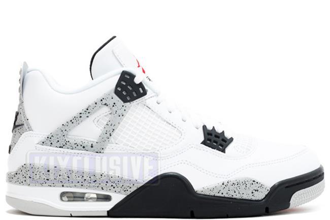 483ae73c25cb Kixclusive - Air Jordan 4 Retro OG White   Cement 2016 (Nike Air)