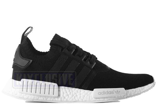 best sneakers 15426 19124 Kixclusive - Adidas NMD R1 PK Monochrome Black