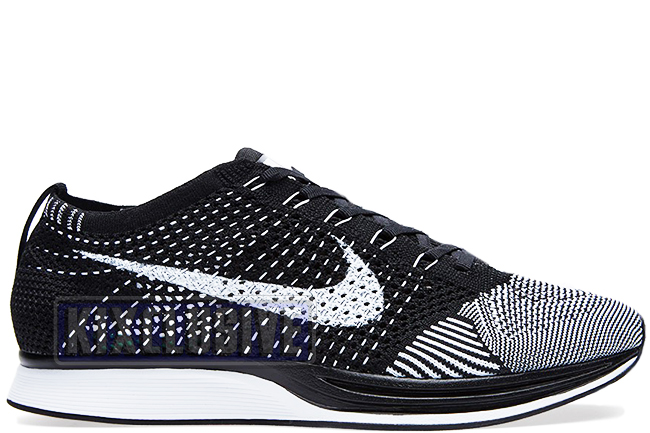 kixclusive nike flyknit racer oreo black white. Black Bedroom Furniture Sets. Home Design Ideas