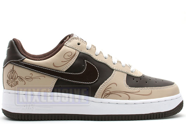 detailed look dce84 7ad64 ... Nike Air Force 1 Mr. Cartoon Brown Pride ...