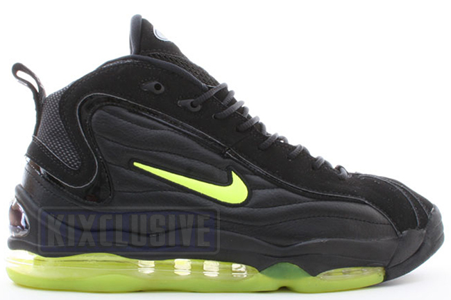 newest collection 7751c 55c64 Kixclusive - Nike Air Total Max Uptempo OG Black Neon Yellow